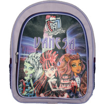 Mochilitas Escolar Kinder Maternal Pers Monster High Op4