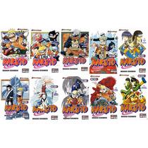 Paquete 10 Tomos De Naruto Nuevos, Panini