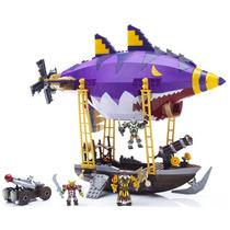 Mega Bloks World Of Warcraft Emboscada Zeppelin