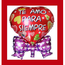 10 Globos Corazon Metalicos San Valentin Regalo Dia Amor