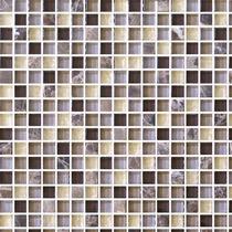 Azulejo Veneciano Cristal 8mm Moka Café 30x30 Mosaico Castel