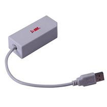 Adaptador Lan Ethernet Hde Para Nintendo Wii Y Wii U Usb Pue