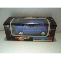 Welly Dickie Vw Volkswagen Lupo Azul 1:60 Metal