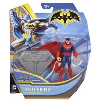 Sgg Fig Superman 4 Pulgadas Steel Shield C10 Dc Maa
