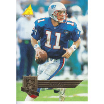 1995 Pinnacle Qb Coll Drew Bledsoe Qb Patriots