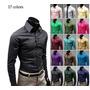 Elegante Camisa Slim A La Moda -17 Colores- Envio Gratis