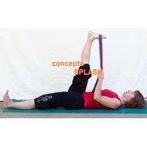 Cinta Para Yoga, Cinturon Para Yoga De Algodon
