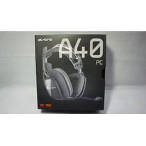 Astro Audio A40 Negro Para Pc Mac Celular