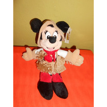 Peluche Minnie Mouse Vaquera Original Disney 25 Cms Mimi