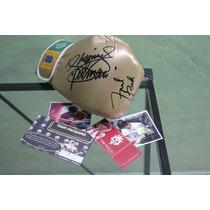 Guante Autografiado Por Pacman Pacquiao Y Freddie Roach Coa