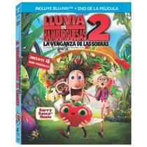 Lluvia De Hamburguesas 2 ( Bluray + Dvd ) Nuevo Original