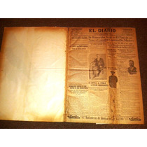 Ejemplares De Periodico El Diario De Año 1911 Empastado