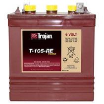Bateria Solar Trojan T105re 6v 225 Amp