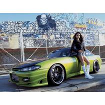 Nissan 240sx S15 Silvia Bomex Ballistix Defensa Delantera