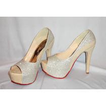 Zapatillas Para Dama Tacon Alto Plataforma Oferta !!!