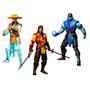 Mortal Kombat X 10 Series Sub-zero Scorpion Variantes Limite
