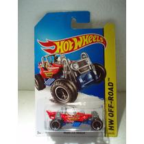 Hot Wheels Mountain Mauler Rojo 103/250 2014