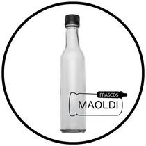 Botella De Vidrio 250ml. 24 Pzas. ( Envases Tarro Frasco )