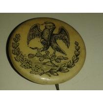 Pin Antiguo Del Escudo Nacional Utilizado Para El Censo 1895
