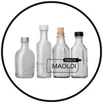 Botella De Vidrio 50 Ml. 24 Pzas. ( Envases Tarro Frasco )