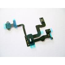 Cable Flex Iphone 4s/4g Sensor Encendido Bloqueo Apagado