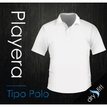 Playera Tipo Polo Corporativa Dry Fit Alta Confección!!
