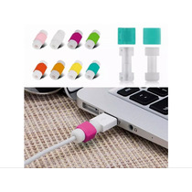 Protector Cable Iphone Ligthing X10 Pares