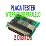 Tarjeta Post De Diagnostico Para Pc 2 En 1 Pci Isa Lpt Op4
