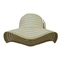 Roll Up Playa Sombrero De Sol W / Wide Floppy Brim Plegable
