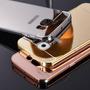 Funda Case De Lujo Aluminio Espejo Galaxy S6 S6 Edge + Mica