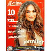 Revista Vida Latina Usa Jennifer Lopez Jlo