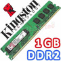 Memoria Ram Ddr2 800mhz 1gb Kingston Pc2 Nuevo