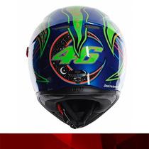 Casco Moto Pista Agv K3 Sv 5 Continentes