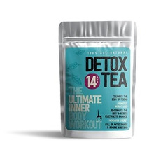100% All Natural 14 Día Detox Hoja De Té Por Young | El Últ