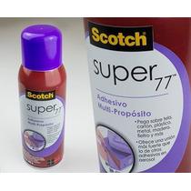 Super 77 Scotch Pegamento En Aerosol 305 Gramos Hm4