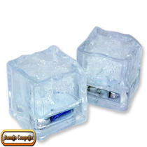 12 Cubos De Hielo Led De Máxima Calidad.