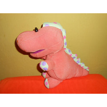 Peluche Dinosaurio Tela Fisher Price 28 Cms
