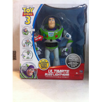 Buzz Lightyear Ultimate Programable Robot 41cm Interactivo
