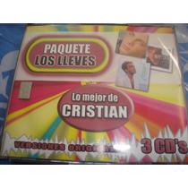 Cristian Castro Cd Lo Mejor Paquete Lo Lleves Edic.2003
