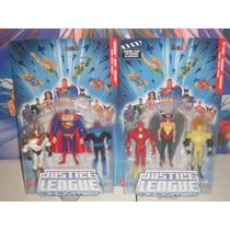 Dc Universe Justice League Unlimited Flash, Waverider, Aztec