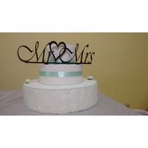 Adorno Para Pastel Acrilico Cake Topper Baby,bodas,cumples¡