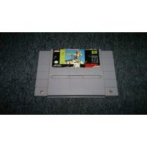 Paper Boy 2 Para Super Nintendo Snes,excelente Titulo