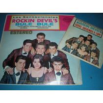 Disco Acetato Vinil Los Rockin Devils Bule Bule Lp + Ep #