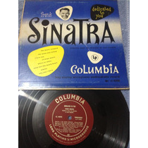 Frank Sinatra Dedicate To You Mini Lp De 8 Canciones Columbi