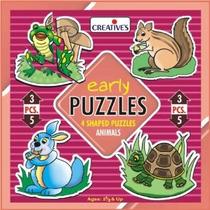 Los Primeros Puzzles - Creativas Años Animales Learning