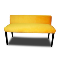 Banca Salas Giallo Minimalista Mueble Lounge Barato Familiar