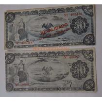 Billete 50 Pesos Gobierno Provisional De Mexico