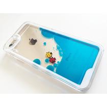 Case Funda Aquario Liquido Pescados Iphone 5 5s 6 6 Plus