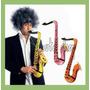 10 Saxofones Inflables Fiesta Evento Batucada Boda Sax