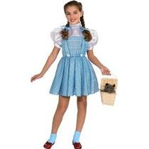 Mago De Oz De Halloween Sensaciones Dorothy Costume Medio (7